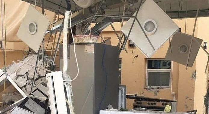 Gas Cylinder Explosion in Ajman, A Man Injured