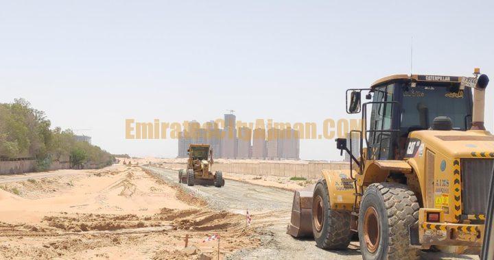 New Roads Construction in Al-Helio, Al Aamra & Emirates City Ajman
