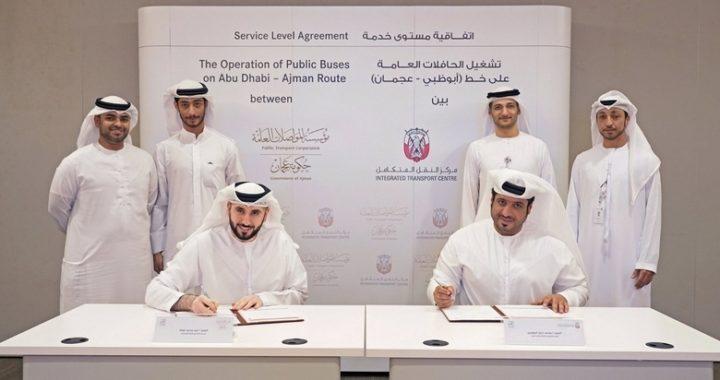 New Abu Dhabi-Ajman Bus Service Launched
