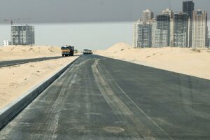 Emirates City Ajman Exit Roads / Streets Construction Works Update