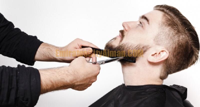lebuna saloon mens hair cutting shaving barbar emirates city ajman